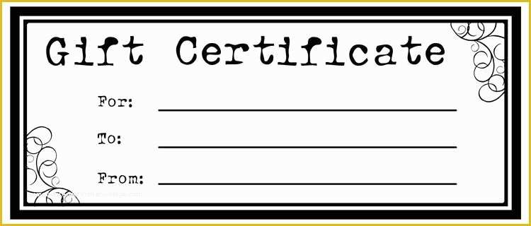 Free Printable Christmas Gift Certificate Template Word Of in Quality Homemade Gift Certificate Template