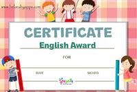 Free Printable Preschool Certificates And Awards Pdf for Free Pre K Diploma Certificate Editable Templates