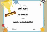 Free School Certificates  Awards in Baby Shower Winner Certificate Template 7 Ideas