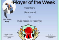 Free Soccer Certificate Maker  Edit Online And Print At Home in Soccer Certificate Template Free