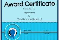 Free Soccer Certificate Maker  Edit Online And Print At Home pertaining to Free Soccer Award Certificate Templates Free
