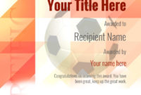 Free Uk Football Certificate Templates  Add Printable with Free Football Certificate Template