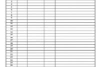Freezer/Refrigeration Unit Temperature Log Sheet Template pertaining to Temperature Log Sheets Template