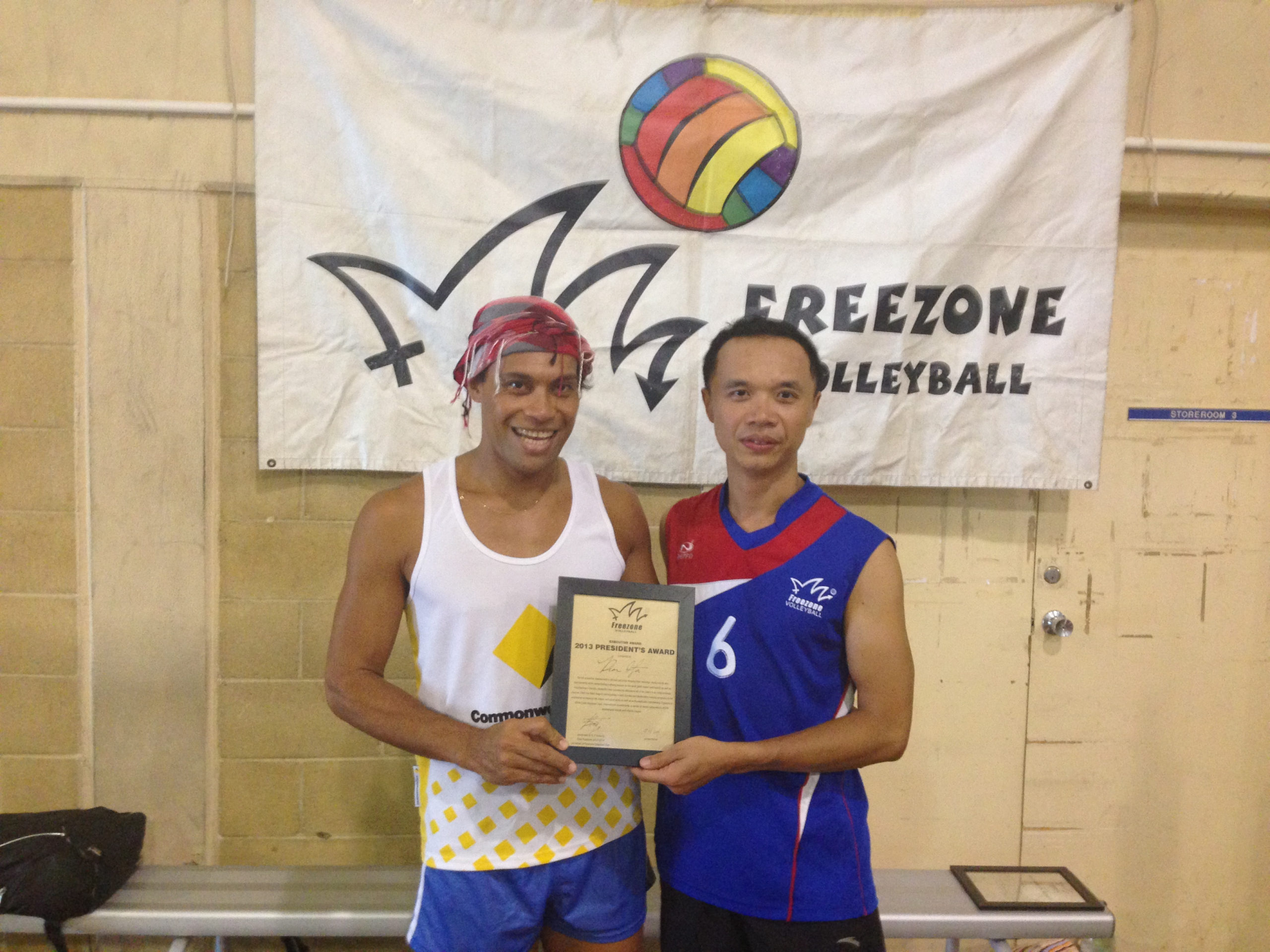 Freezone Awards For 2013  Freezone Volleyball Club throughout Free Volleyball Tournament Certificate