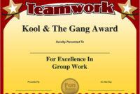 Funny Award Ideas Free Teamwork Certificates with regard to Amazing Winner Certificate Template Ideas Free