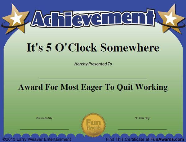 Funny Awards …  Funny Awards Funny Awards Certificates intended for Free Funny Certificate Templates For Word