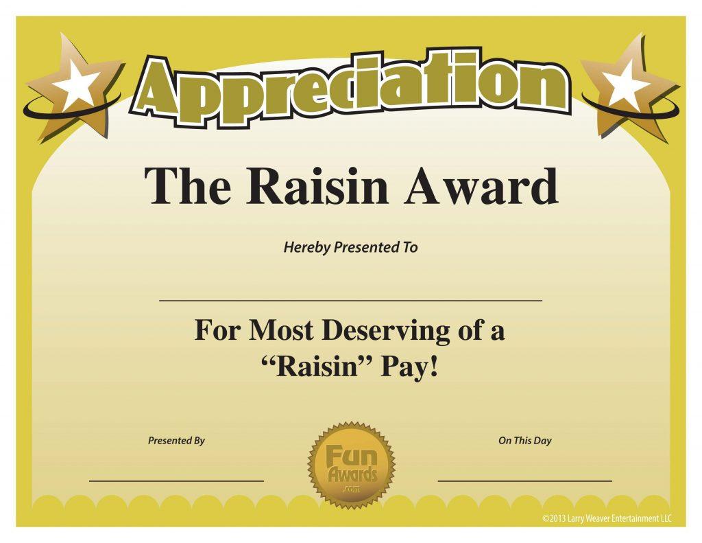 Funny Certificate Template Of Appreciation  Pdf Format in Free Free Printable Funny Certificate Templates