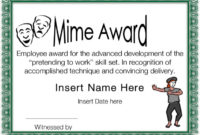 Funny Certificate Templates  Download Free  Premium pertaining to Free Funny Certificate Templates For Word