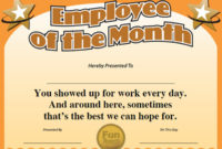 Funny Employee Awards™  101 Funny Awards For Employees with regard to Bravery Certificate Template 10 Funny Ideas