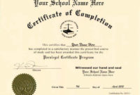 Ged Certificate Template Download  Best  Professional pertaining to Ged Certificate Template