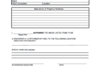 Get Property Evidence Forms To Fill Online In Pdf  Sample in Child Visitation Log Template