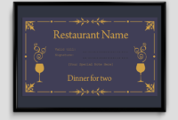 Gift Certificate Template  6 Fillable Certificate for Amazing Donation Certificate Template