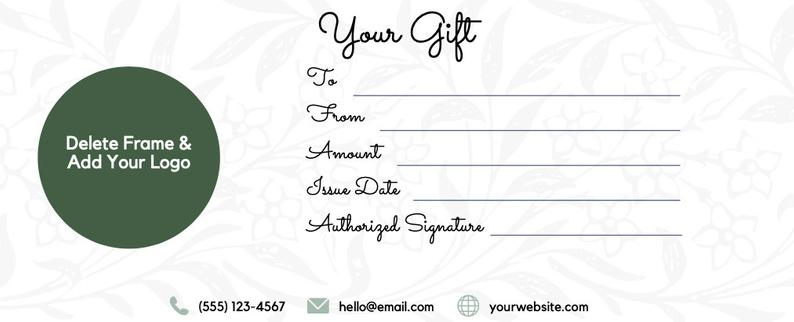 Gift Certificate Template For Hair Salon Gift Card in Awesome Free Printable Hair Salon Gift Certificate Template