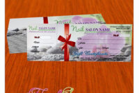 Gift Certificate Template For Nail Salon Visit Www pertaining to Amazing Nail Gift Certificate Template Free