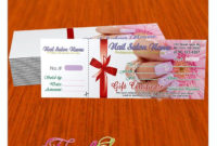 Gift Certificate Template For Nail Salon Visit Www within Nail Gift Certificate Template Free