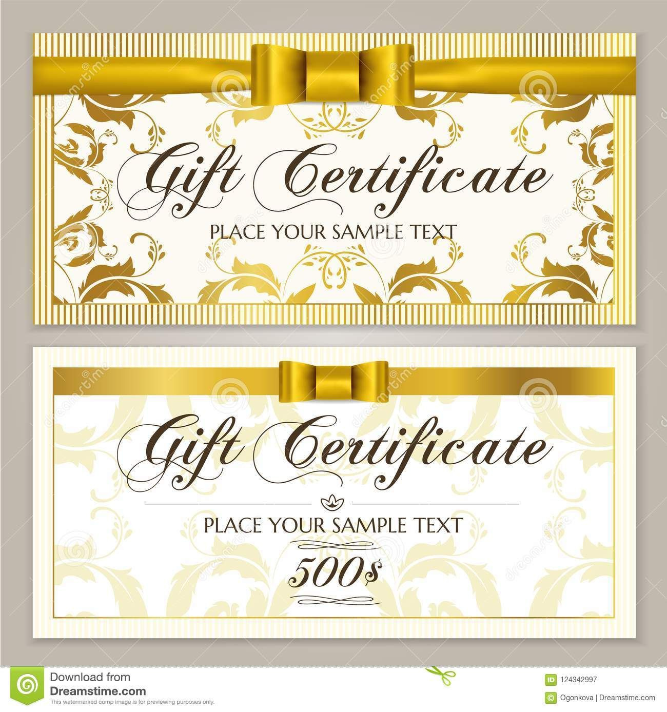 Gift Certificate Template Gift Voucher Layout Coupon with Awesome Restaurant Gift Certificate Template