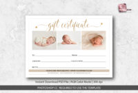 Gift Certificate Template Photoshop  Best Template Ideas intended for Gift Certificate Template Photoshop