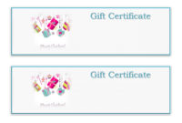 Gift Certificate Templates To Print For Free  101 Activity pertaining to Printable Free Christmas Gift Certificate Templates