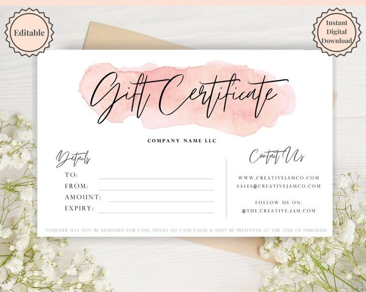 Gift Voucher Gift Certificate Template Editable Gift with regard to Quality Free Editable Wedding Gift Certificate Template