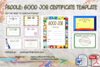 Good Job Certificate Template Free 9 Best Choices throughout Printable Good Job Certificate Template Free