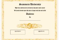 Graduation Certificate Templates  12 Free Design within Free Printable Graduation Certificate Templates