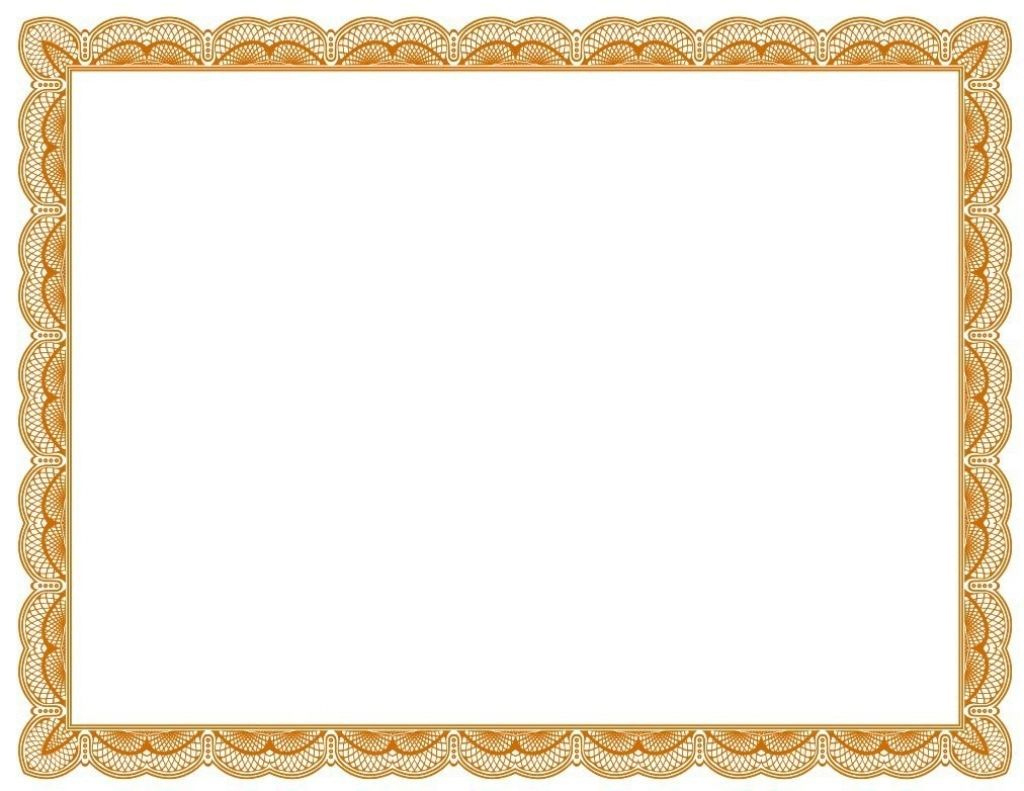 Green Certificate Border Template Free Vector 22 Within throughout Free Printable Certificate Border Templates