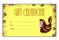 Hair Salon Gift Certificate Template Free Printable 1 in Best Salon Gift Certificate Template