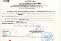 Haitian Birth Certificate  Carlynstudio intended for Baby Death Certificate Template