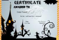 Halloween Costume Award Certificates …  Printable with Halloween Costume Certificates 7 Ideas Free