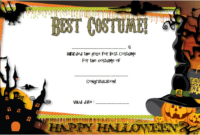 Halloween Costume Certificates 7 Template Ideas Free regarding Amazing Firefighter Certificate Template Ideas