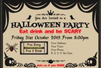 Halloween Invitations Certificate  Award Templates At for Halloween Certificate Template