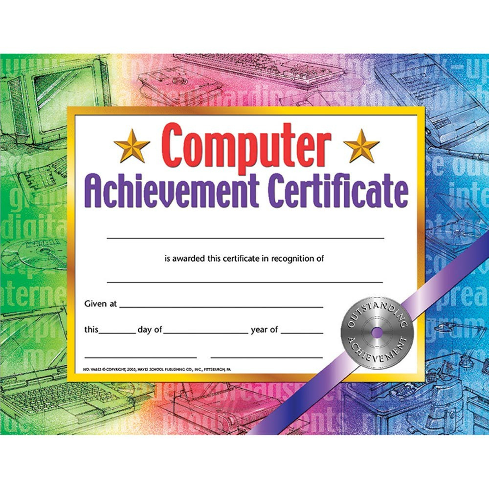Hayes Certificate Templates   Hayes Perfect Attendance throughout Amazing Hayes Certificate Templates