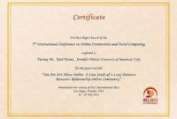 Hci International regarding Social Studies Certificate Templates