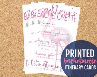 Hen Party Itinerary  Etsy for Bachelorette Party Agenda Template
