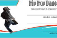 Hip Hop Certificate Templates  6 Best Ideas in Quality Dance Award Certificate Template