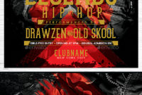 Hip Hop Flyerdrawzen  Graphicriver for Hip Hop Certificate Template 6 Explosive Ideas