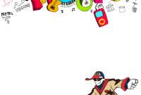 Hiphop Hip Hop Party Music Festival Posters Personality regarding Hip Hop Dance Certificate Templates