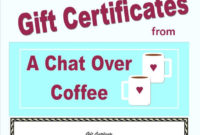 Homemade Gift Certificate  Template Business intended for Homemade Christmas Gift Certificates Templates