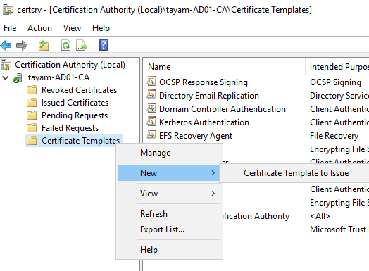 How To Set Up Automatic Certificate Enrollement In Ad in Awesome Active Directory Certificate Templates