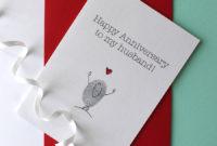 Husband Anniversary Cardadam Regester Design regarding Free Printable Best Husband Certificate 7 Designs