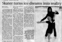 Ice Dreams Skating Academy  Canada Talents within Free Ice Skating Certificates
