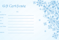 Image Result For Diy Christmas Gift Certificate Template pertaining to Amazing Homemade Christmas Gift Certificates Templates