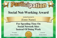 Image Result For Funny Employee Award Categories  Funny inside Free Funny Award Certificate Templates For Word