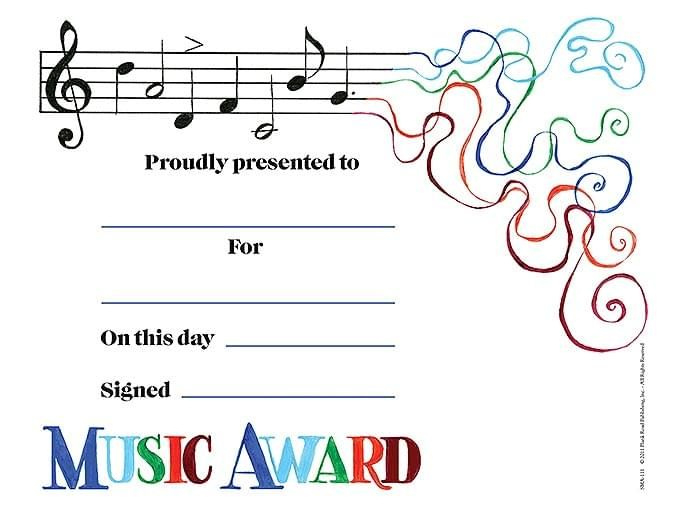 Image Result For Music Certificate Border  Elementary with regard to Awesome Piano Certificate Template Free Printable