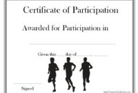 Image Result For Running Borders For Certificates pertaining to Best Finisher Certificate Template