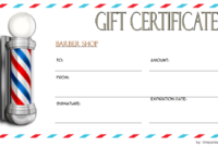 Immediately Get Design Ideas From This 2020 Style Barber in First Haircut Certificate Printable Free 9 Designs