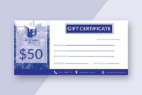 Indesign Gift Certificate Template 5  Professional throughout Best Gift Certificate Template Indesign