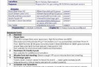 Informal Meeting Minutes Template  9 Free Word Pdf throughout Advisory Board Meeting Agenda Template