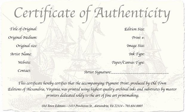 Jewelry Certificate Of Authenticity Template Beautiful How with regard to Certificate Of Authenticity Photography Template