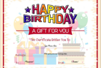 Kids Gift Certificate Template 1  Gift Certificate in Quality Kids Gift Certificate Template